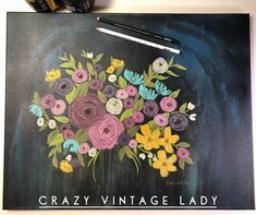 a fun place to get info on DIY paint and share your work! Faux Flowers, Facebook Sign Up, Diy Painting, Painted Furniture, Vintage Ladies, Lady, Image, Design