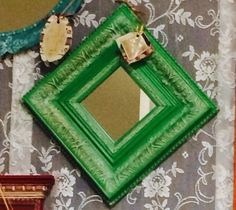 Ornate Antibes - $18. Eclectic Mirrors, Antibes, Gift Store, Daisy, Frame, Gifts, Decor, Picture Frame, Presents