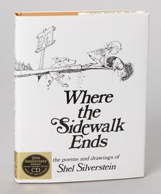 Take a look at this Where the Sidewalk Ends Hardcover & CD by HarperCollins on #zulily today!    Uncle Shel made for happy memories.
