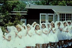Joseph Hill Academy Staten Island New York photo 18 Girls First Communion Dresses, Holy Communion Dresses, Girls Pageant Dresses, Flower Girl Tutu, Flower Girl Dresses, Flower Girls, Purple Bridesmaid Dresses, Wedding Dresses, Party Dresses