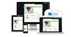 Votre métier consiste à prendre soin des gens. Avec vous, votre clientèle se sent en beauté. Montrez votre expertise sur le Web avec ce design frais et propre à la détente.