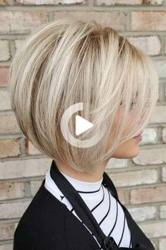 Bob Hairstyles for Valentines Day 2020 50 Impressive Short Bob Hairstyles to Try Of 96 Awesome Bob Hairstyles for Valentines Day 2020 Bob Haircut For Fine Hair, Blonde Bob Haircut, Bob Hairstyles For Fine Hair, Lob Haircut, Braid Hairstyles, Pretty Hairstyles, School Hairstyles, Hairstyles Haircuts, Bobs For Thin Hair