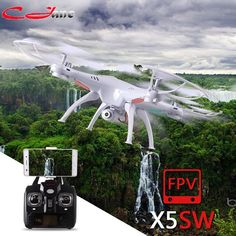 SYMA X5S X5SC X5SW FPV Drone X5C Upgrade 2MP FPV Camera Real Time Video RC Quadcopter 2.4G 6-Axis Quadrocopter RC Airplane toy