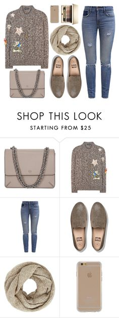 """""""Saturday"""" by monmondefou ❤ liked on Polyvore featuring Tory Burch, Dolce&Gabbana, Levi's, FitFlop, John Lewis, Agent 18, Clarins and beige"""