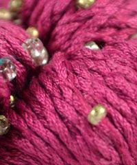 Mulberry Hand Beaded by Louisa Harding - #35 Raspberry - Alpaca Direct
