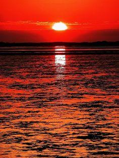 Sunrise, sunset.