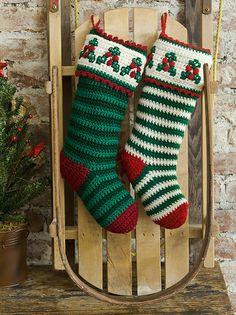 tru-knitting: Рождественский чулок