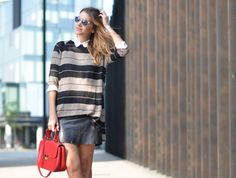 Leather Skirt!! ------ My Daily Style