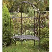 Found it at Wayfair - Metal Canopied Garden Bench