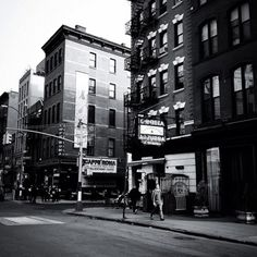 Late afternoon in Little Italy, New York City  - Take a stroll in Manhattan's Little Italy, a historic enclave with beautiful old NYC architecture.