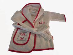 Kraamkado's & Naamkadootjes: Geef iemand een badjasje of badcape cadeau.
