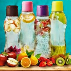 Tupperware bottles are available in different sizes & designs but are either usually translucent or transparent to keep your beverage game on point. Though you can invest in steel bottle they are often heavy to carry & opaque which keeps you judging the water level inside.