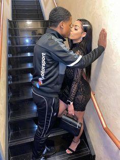 Young Black Couples, Cute Black Couples, Black Couples Goals, Cute Couples Goals, Black Couples Tumblr, Swag Couples, Fit Couples, Couples In Love, Couple Goals
