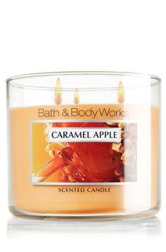 Caramel Apple 14.5 oz. 3-Wick Candle - Slatkin & Co. - Bath & Body Works