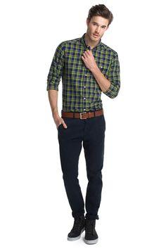 Esprit : Camisa a cuadros, 100% algodón en la Online-Shop