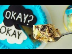 The Fault In Our Stars Cake Ice Cream Cake HOW TO COOK THAT Ann Reardon