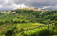 San Gimignano Tuscany Italy photograph by Carl Amoth