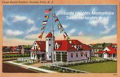 Coast Guard Station Seaside Park NJ 1940s