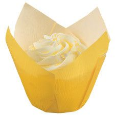 Pleated Baking Cups by Wilton Yellow