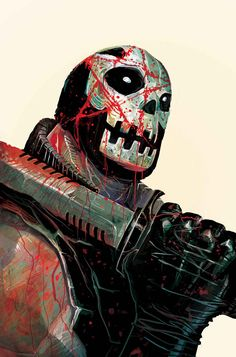 Crossbones by Mike Del Mundo #CaptainAmerica #WinterSoldier