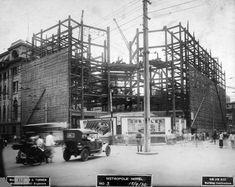 在建的新城饭店,上海,1930年9月,英国钢铁归档项目,BS-S11