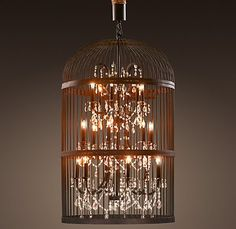 This is Restoration Hardware's new lighting and it is insane. Love it!!!