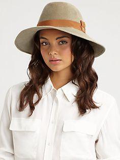 Nina Trilby Angora Felt Hat. Helen Kaminski.