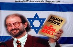 Salman Rushdie ~ Worship Charlie Hebdo hate porn or terrorists will kill you! Kevin Barrett, April 27, 2O15, Veterans Today ~ rushdie-zio