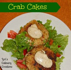 The Moistest Crab Cakes Ever!