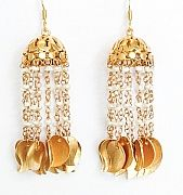 viti jhoomka earrings with pearls