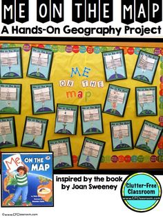 Me on the Map - A hands-on geography project! 100+ pages - $ - This blog post will walk you through the many great activities included in this download! See how this could be used in your 1st, 2nd, 3rd, 4th, or 5th grade classroom. Your students will have a much better understanding of their place in the world when you are done!