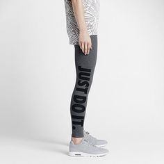 Now Buy Nike Sportswear Leg-A-See Carbon Heather Black Save Up From Outlet  Store at Suprashoes. 72eea24ad