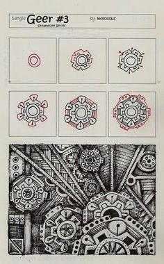 mechanical zentangles - Google zoeken