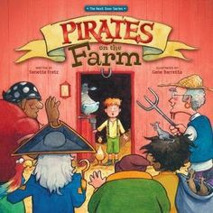 "This is a humorous and powerful book having kids and parents looks at ""Love your Neighbor as yourself"" WWJD LOVED it! http://www.psalm516.blogspot.com/2014/01/delightful-and-fun-picture-book-pirates.html"