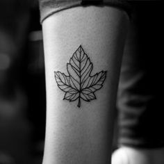 Venn diagram tattooi want to get this to remind me not to be blackwork leaf tattoo by kevin king ccuart Image collections