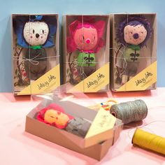 Dolis y Dolos Packaging by Misako Mimoko