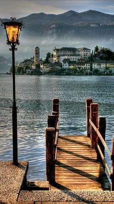 San Giulio Island on Lake Orta in Piedmont, northwestern Italy • photo: Michele Galante on 500px - See Lake Orta on a great tour - enter dan330 for special pricing http://maupintour.com/tour/everything-italy-tour/