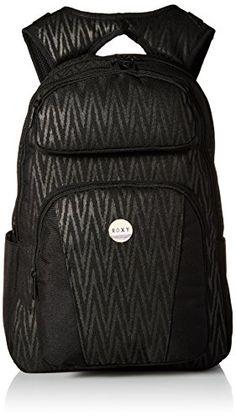 Roxy Juniors Drive Out Backpack Black Chevron One Size ** This is an Amazon Affiliate link. Continue to the product at the image link.