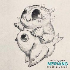 Risultati immagini per morning scribbles