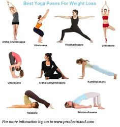 Yoga can be a great way to burn calories and lose weight. Go with these simple yoga poses for lose your weight.
