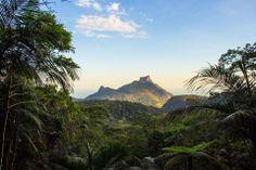 Floresta da Tijuca - Cidade do Rio de Janeiro - Brasil - Pedra do Imperador