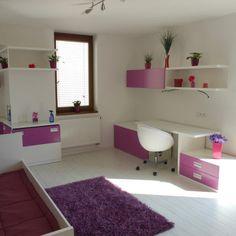 Dětské pokoje - fotogalerie a inspirace - Favi.cz Kids Bedroom, Bedroom Decor, Kids Room Design, Shag Rug, Projects To Try, Stuff To Buy, Home Decor, Houses, Shaggy Rug