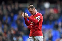 Wayne Rooney shows his appreciation to the travelling @manutd fans following a hard-fought 0-0 draw at Spurs.