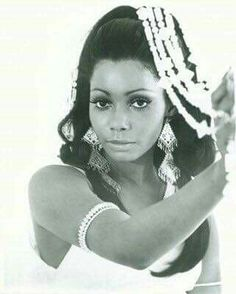 Model and Actress Judy Pace.