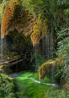 Caves of St. Christopher Labonte in Italy