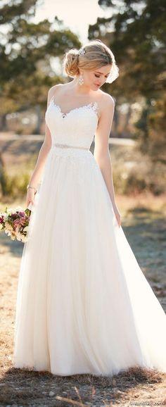 #Wedding #WeddingDress #Bridal #Gowns Wedding Dresses 2018 (11)