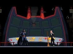 Alfred Points Out to Batman All of the Problems With Having Real Bats Flying Around the Batcave in an Animated Short