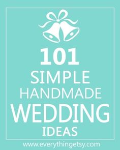 DIY wedding ideas wedding