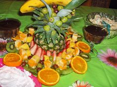 Tropical Graduation Party Fruit Platter