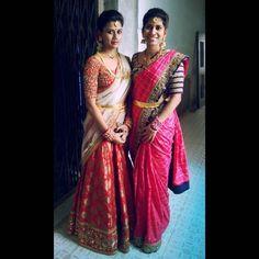 Bridal saree blouse embroidery Telugu bride Tamil bride Heavy Bridal Jewellery Lehenga